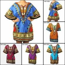 Cotton V Neck Plus Size Casual Dresses for Women