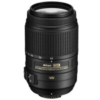 Nikon 55-300mm VR DX AF-S F/4.5-5.6 Lens for Nikon DSLR Camera - Amazing Deal!