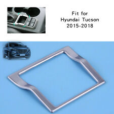 Stainless Steel Gear Shift Trim Frame Cover Silver Hyundai Tucson 2015-2018