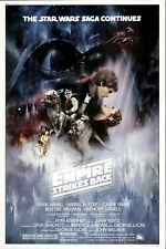 Star Wars: Empire Strikes Back (1980) Style-A Mark Hamill Movie Poster 27x40 NEW