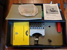 Gritzner machine à écrire sur dessins et plans