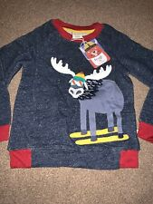 Frugi Jaco Jumper Moose 5-6 BNWT
