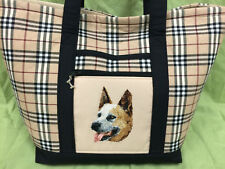 Beautiful Custom Embroidered Australian Cattle Dog Tote