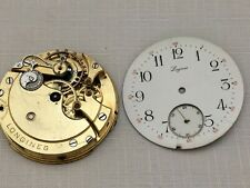 LONGINES Rare  Antique  Pocket Watch  Movement  c. 1894  Working Strong