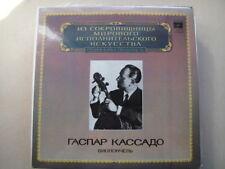 Gaspar Cassado - cello Mehul Schumann Faure Dvorak LP
