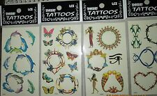 24  PCS WHOLESALE LOT BELLY/BREAST  TEMPORARY  TATTOOS  BODY DECOR NEW