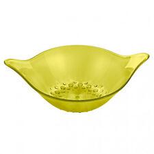 Koziol LEAF M Bowl - OLIVE YELLOW- Medium Sized. Perfect for Popcorn, Pretzels.