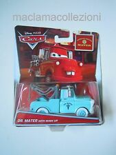 Cars Disney Pixar 2015 Dr. Mater with Mask Up RARO Mattel Rescue cricchetto 1 55