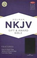 Holy Bible : New King James Version, Black, Imitation Leather, Gift & Award B...