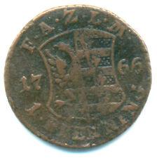 Anhalt-Zerbst, Friedrich August, 1 Pfennig 1766
