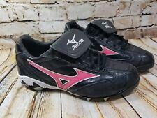 Mizuno Finch Franchise Cleats Womens Size 8 Black/Pink 9 Spike Cleats Softball