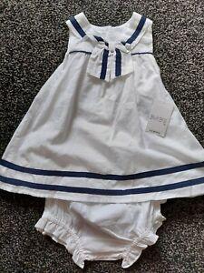 Baby Girl Sailor Dress.  BNWT.   3 - 6 Months