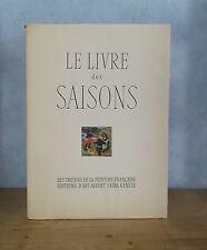 EDITIONS SKIRA TRESORS DE LA PEINTURE FRANCAISE LE LIVRE DES SAISONS (1942, PL.)