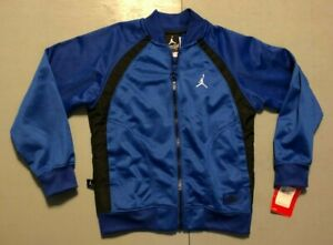 Jordan Full Zip Up Track Jacket Warm Up Jacket Size Youth /6/7 Yrs Retail $53