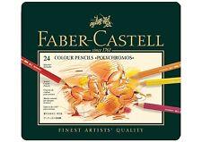 Faber-Castell Polychroms Künstlerfarbstifte 24er Metalletui