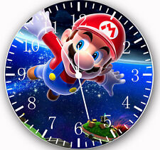 "Super Mario wall Clock 10"" will be nice Gift and Room wall Decor W04"