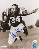 COLTS Joe Perry signed 8x10 photo w/ HOF 1969 JSA COA Autographed Baltimore