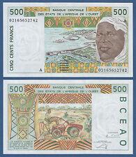 WEST AFRICAN STATES / IVORY COAST 500 Francs  UNC P.110A m
