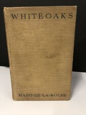 Whiteoaks Mazo De La Roche Book 1929