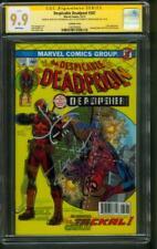 Deadpool 287 CGC 2XSS 9.9 Holland Bernthal sketch Spider Man 129 Homage up 9.8