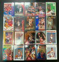 1990-2018 Scottie Pippen Basketball Card Lot of 20 Different Cards Bulls HOF