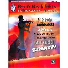Pop & Rock Hits Instrumental Solos Cello - Violoncello Noten [Musiknoten]