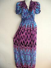 Women Summer Long Maxi BOHO Evening Party Long Dress Beach Dress Sundress L/XL 1