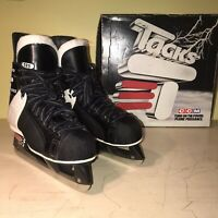CCM Black Tack 595 Pro Lite 3 Ice Hockey Skates Size 8.5 (Original Box Included)