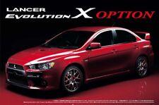 Mitsubishi Lancer Evolution X opción BBS 1:24 model kit kit Aoshima 044919