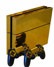Golden flash SONY PS4 DECAL PROTECTIVE STICKER for SONY/PS4 CONSOLE CONTROLLER