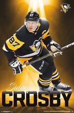 Sidney Crosby GOLDEN 2018 Pittsburgh Penguins Superstar Action Official  POSTER 70487d63d