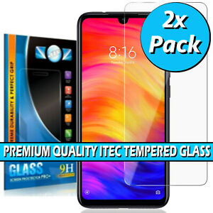 For Xiaomi Redmi Note 7 / Pro / 7S Gorilla Tempered Glass Screen Protector Cover