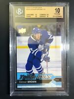 2016-17 Upper Deck Connor Brown Young Guns Rookie BGS 10