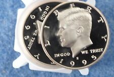 1995-S Kennedy Half Dollar DCAM Clad Proof lot of 17 Coins E0466