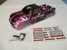 Brand NEW Color Traxxas 2wd Stampede Pink White Black Body Fits 4wd 4x4 XL-5 VXL