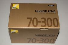 AF Zoom Nikkor 70-300mm f/4-5.6G Lens for Nikon DSLR Cameras - D3200 D3300 D5200