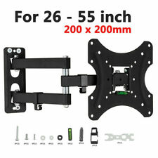 Swivel TV Wall Bracket Mount For 32 40 42 50 52 55 Inch 3D LCD LED Plasma UK
