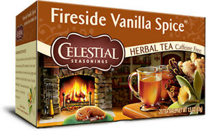 Fireside Vanilla Spice Tea by Celestial Seasonings, 20 tea bag