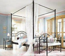 himmelbetten aus metall g nstig kaufen ebay. Black Bedroom Furniture Sets. Home Design Ideas