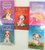 Holly Webb Animal Stories 5 Children Books Collection Set-Brand New