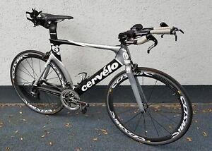 Cervelo P3 - Dura Ace - FSA SL-K light Kurbel - Carbon Lenker+Ext - Triathlon
