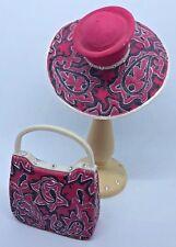 Lady Vanessa Mini Classic Couture Fashion Handbag & Hat With Stand Premier 1999