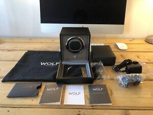 Wolf 1.8 Module Cub Watch Winder Case Leather