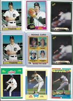 Jack Morris Lot of (17) Different w/ 1978 Topps Rookie #703 & 1979 HOF EX N Mint