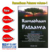 Ramadhaan Fataawa volume-1 Fast Fasting Islamic Muslim Ramadan Book