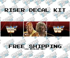 Arcade1up Arcade Cabinet Graphic Decal Kits - WrestleFest RISER ONLY