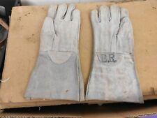 Vintage 1970'sBritish Railways Issue Leather Gloves