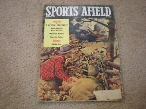 Sports Afield Magazine Dec 1958- 3 Special Features North American Moose Roundup