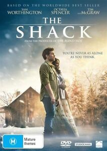 The Shack DVD INSPIRATIONAL FILM OF THE YEAR [Bestselling Novel] BRAND NEW R4