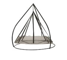 Flying Saucer Swing Chair w/ or w/o Stand Indoor Outdoor Patio Furniture Deck